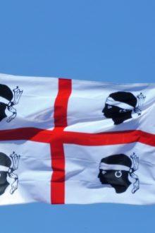 La bandiera dei quattro mori.